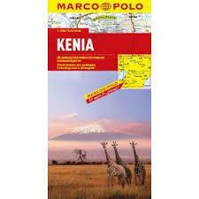 KENIA mapa samochodowa 1:1 000 000 MARCO POLO