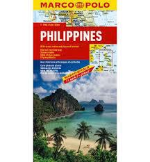FILIPINY mapa samochodowa 1:2 000 000 MARCO POLO