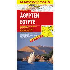 EGIPT mapa samochodowa 1:1 000 000 MARCO POLO