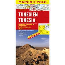 TUNEZJA mapa samochodowa 1:800 000 MARCO POLO