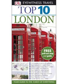LONDYN LONDON przewodnik TOP 10 DK ang 2014