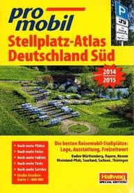 NIEMCY POŁUDNIOWE atlas dla kempingowców HALLWAG 2014/2015
