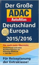 NIEMCY EUROPA AUTOATLAS ADAC 2015/2016