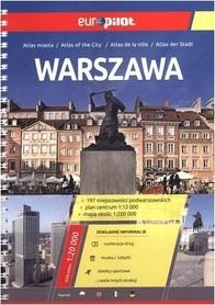 WARSZAWA atlas miasta EUROPILOT