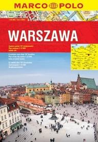 WARSZAWA atlas miasta MARCO POLO