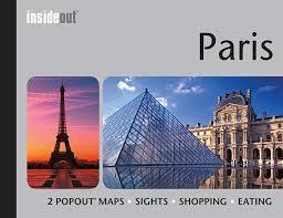 PARYŻ INSIDEOUT mapa/ przewodnik POPOUT