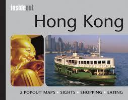 HONG KONG mapa/ przewodnik POPOUT