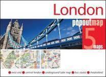 LONDYN mapa/ plan miasta PopOut Map