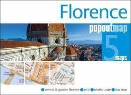 FLORENCJA mapa/ plan miasta PopOut Maps 2014