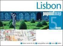 LIZBONA mapa/ plan miasta PopOut Map