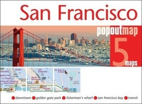 SAN FRANCISCO mapa/ plan miasta PopOut Map