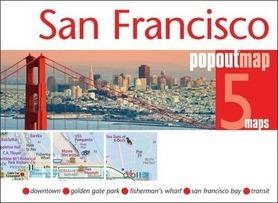 SAN FRANCISCO mapa/ plan miasta PopOut Map