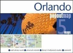 ORLANDO mapa/ plan miasta PopOut Map 2014