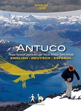 ANTUCO mapa trekkingowa COMPASS CHILE