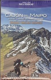 CAJON DEL MAIPO mapa trekkingowa COMPASS CHILE