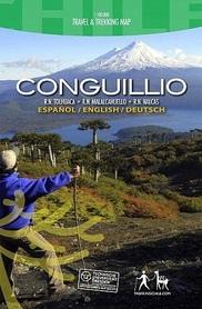 CONGUILLO mapa trekkingowa COMPASS CHILE