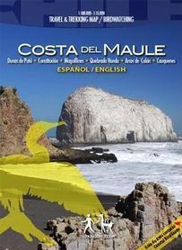 COSTA DEL MAULE mapa trekkingowa COMPASS CHILE