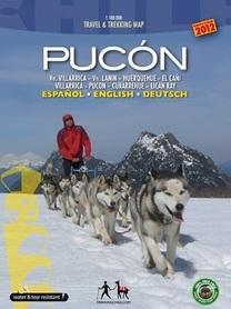 PUCON mapa trekkingowa COMPASS CHILE