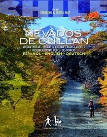 NEVADOS DE CHILLAN mapa trekkingowa COMPASS CHILE