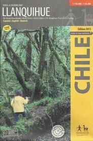 LLANQUIHUE mapa trekkingowa COMPASS CHILE