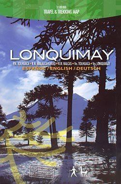 LONQUIMAY mapa trekkingowa COMPASS CHILE
