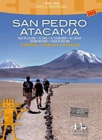 SAN PEDRO ATACAMA mapa trekkingowa COMPASS CHILE