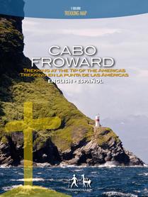 CABO FROWARD mapa trekkingowa COMPASS CHILE