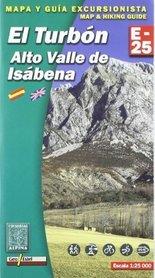 EL TURBON ALTO VALLE DE ISABENA mapa turystyczna 1:25 000 ALPINA EDITORIAL