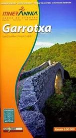 GARROTXA mapa turystyczna 1:50 000 ALPINA EDITORIAL