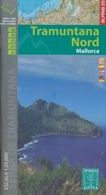 MALLORCA CENTRAL TRAMUNTANA mapa 1:25 000 ALPINA