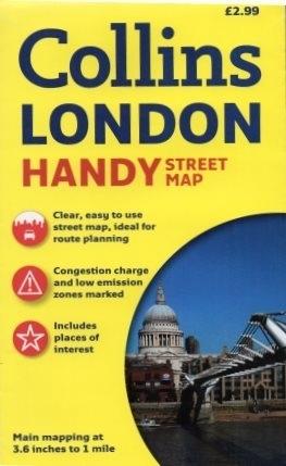 LONDYN plan miasta 1:17 500 COLLINS