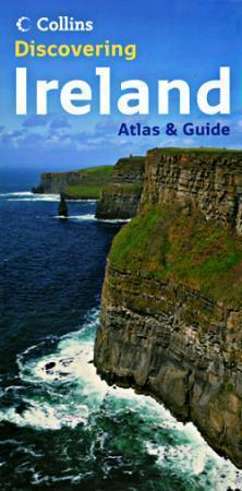 IRLANDIA atlas samochodowy i przewodnik COLLINS