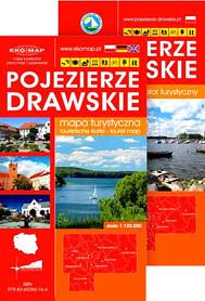POJEZIERZE DRAWSKIE mapa i informator turystyczny 1:120 000 EKOMAP
