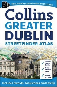 GREATER DUBLIN atlas 15:840 COLLINS