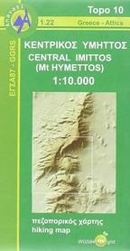 ŚRODKOWY HYMET mapa 1:10 000 ANAVASI