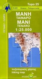MANI TAJNORA mapa w skali 1:25 000 ANAVASI
