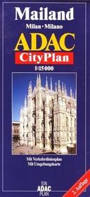 MEDIOLAN plan miasta 1:15 000 ADAC