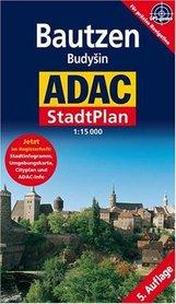 BUDZISZYN plan miasta 1:15 000 ADAC