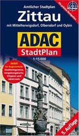 ŻYTAWA plan miasta 1:15 000 ADAC