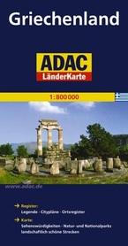 GRECJA mapa samochodowa 1:800 000 ADAC
