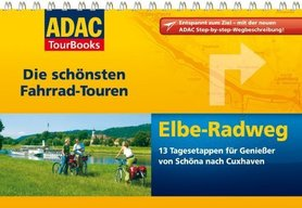 ŁABA atlas rowerowy i przewodnik na spirali ADAC