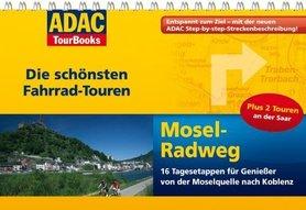 MOZELA atlas rowerowy i przewodnik na spirali ADAC