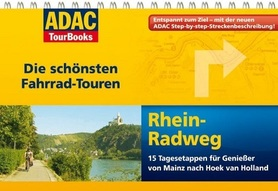 REN atlas rowerowy i przewodnik na spirali ADAC