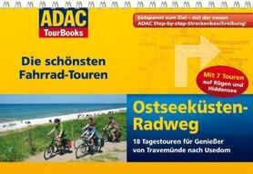 NIEMIECKIE WYBRZEŻE BAŁTYKU atlas rowerowy i przewodnik na spirali ADAC