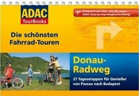 DUNAJ atlas rowerowy i przewodnik na spirali ADAC