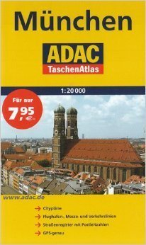 MONACHIUM pocket atlas 1:20 000 ADAC
