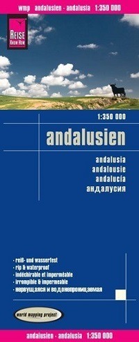 ANDALUZJA mapa 1:350 000 REISE KNOW HOW
