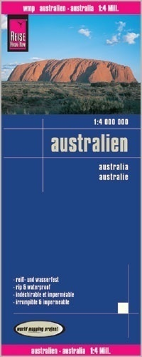 AUSTRALIA mapa 1:4 000 000 REISE KNOW HOW