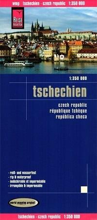 CZECHY REPUBLIKA CZESKA mapa 1:350 000 RKH