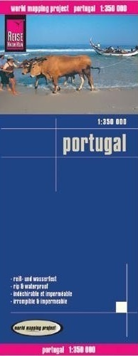 PORTUGALIA mapa 1:350 000 REISE KNOW HOW
